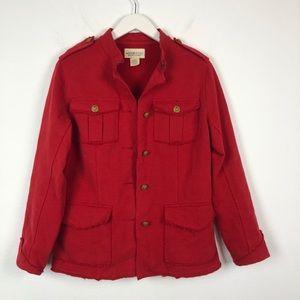 Denim & Supply Ralph Lauren red military jacket
